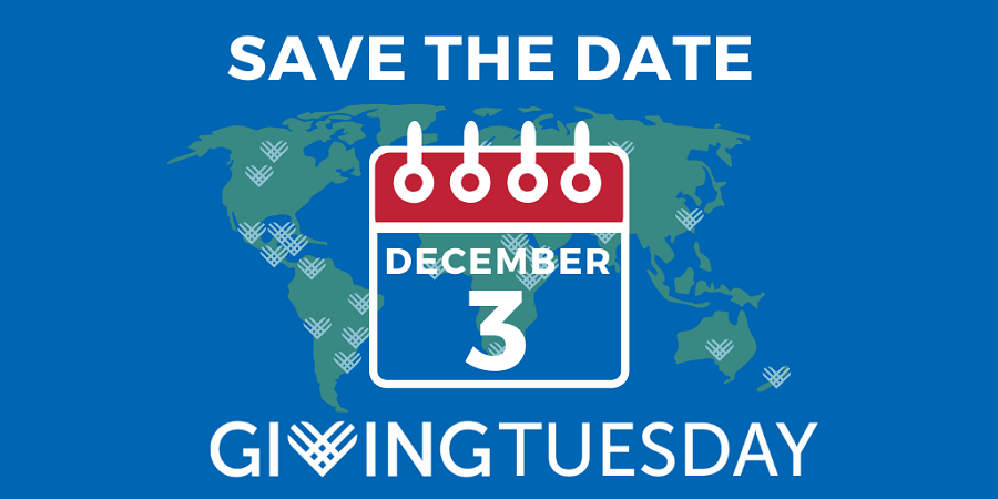 December 3 is #GivingTuesday